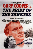 The Pride of the Yankees 1942 DVD - Gary Cooper / Teresa Wright